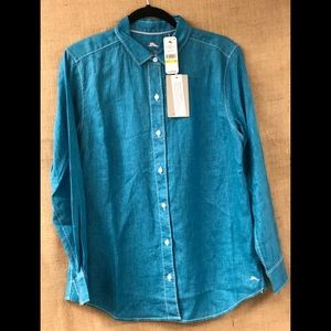 Ladies Tommy Bahama Sea Glass Breezer L/S